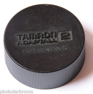 Tamron Adaptall 2 for Pentax K - Deep Plastic Rear Lens Cap - Japan - USED C016