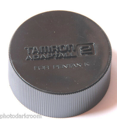 Tamron Adaptall 2 for Pentax K - Deep Plastic Rear Lens Cap - Japan - USED V862