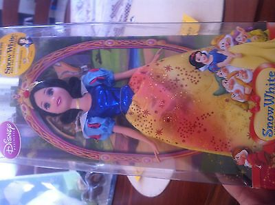 "Snow White Sparkling Princess Doll 12"" With Glittery Dress New.  (194)"