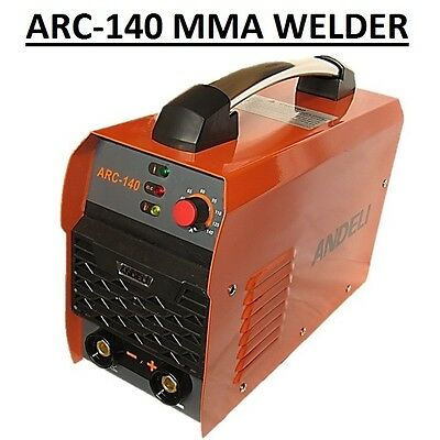 Mma(Arc) 140Amp Portable Dc Inverter Welder With Complete Kit