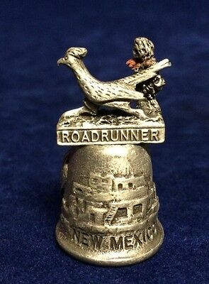 Pewter Road Runner New Mexico Thimble