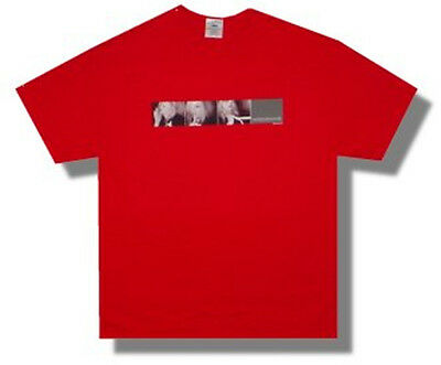 Madonna-Whisper-Drowned World 2001 Tour-Red T-shirt
