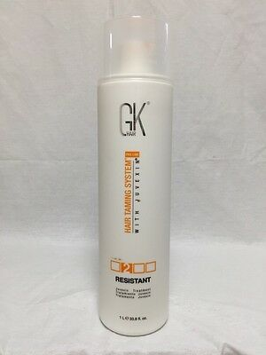 Global Keratin GK Hair Resistant 33.8 oz / 1000 ml New