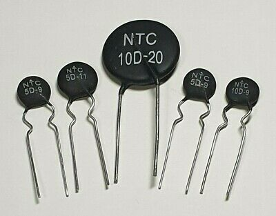 Thermistor Resistor - Choose from 5-10D 3-4A - 25c rated - UK Free P&P
