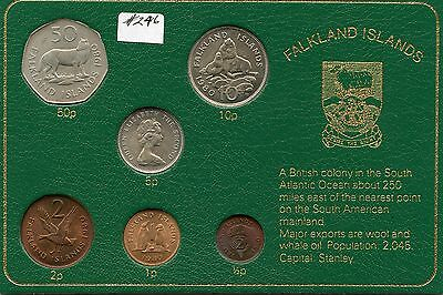 1980 Falkland Is. BU Set . (#246) Carefully Check out the Photos.