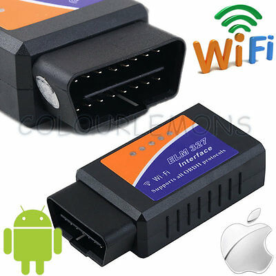 WiFi ELM327 Car OBD2 OBDII Diagnostic Scanner Scan Tool For iPhone iPad Android