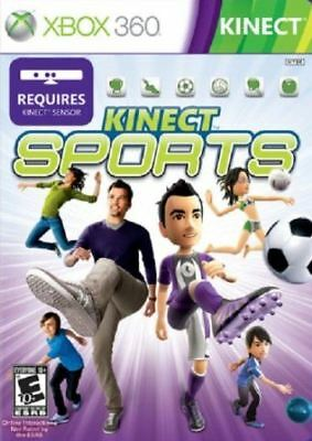 Kinect Sports - Boxing Soccer Tennis Volleyball Track Bowling XBOX 360 NEW