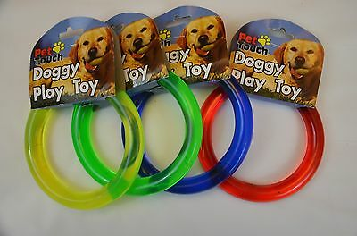 Doggy Play Ring, Toy, Green, Red, Blue & Yellow!