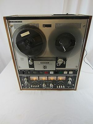 SONY TC-654-4 Tape Recorder Reel to Reel 4 Track NICE CONDITION Parts or Repair