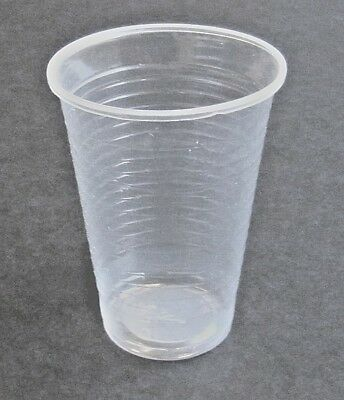 Clear Plastic Cups 7oz for Water Coolers / Vending Disposables x 3000. Ref:PLC07