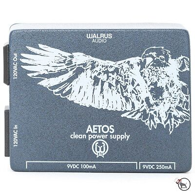 Walrus Audio Aetos Guitar Pedalboard Clean Isolated DC Power Supply with Cables