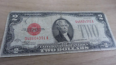 United States Note $2 dollar Series 1928 F - Nice looking note, getting rare!!