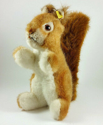 Vintage Steiff Ricky Squirrel 2030/20 from 1970's