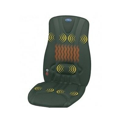 Dr Scholls Soothing Full Cushion Massager Car Seat Home Office Chair Heat Back