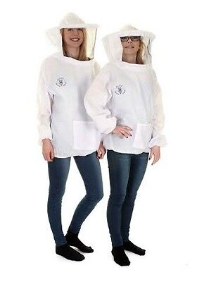 Buzz Basic Beekeepers Tunic with Round Bee Veil Size: 2XL