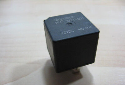 Siemens Tyco Potter & Brumfield Relay 12V 40/30A VF4-15F21-S01 5-prong #M258C