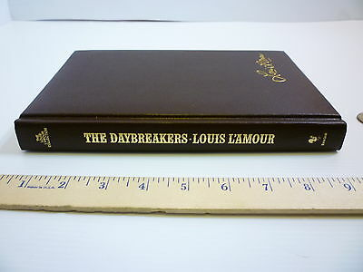 LOUIS L'AMORE HARDCOVER LEATHERETTE BOOK~~DAYBREAKERS~~MARCH 1981