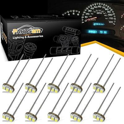 10x 3- 3014-SMD T4.7 White Instrument Led Light Bulbs Replace Grain of wheat