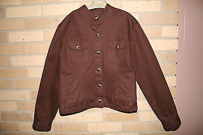 DON'T MESS WITH TEXAS Country Western Rodeo Horse Riding Jacket Blazer Size S