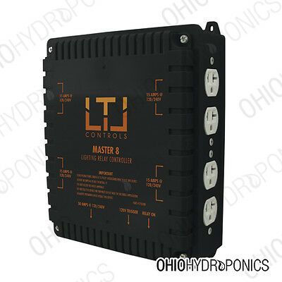 LTL Master 8 Lighting Relay Controller - Ballast Grow Light Controller indoor