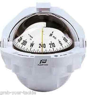 Compass Plastimo Offshore 105 Flush White Card and case Powerboat Compass NEW