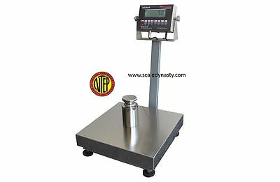 """SHIPPING SCALE BENCH SCALE 400 lb 16"""" X 20"""" PLATFORM  NTEP"""