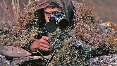 Camouflage 3D Rifle Gun Wrap Cover For Camo Yowie Ghillie Suit Sniper
