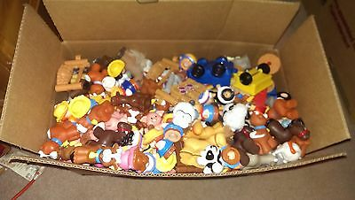 Fisher-Price Little People Farm lot Animals Farmer Turkey Bunny Cow Horse pig ch