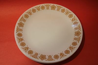 """Vintage Lot of 6 Corelle Corning Ware BUTTERFLY GOLD  10.25""""  Dinner Plates"""