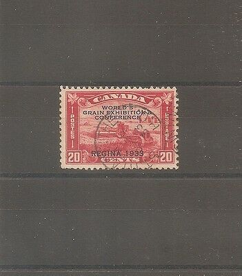 TIMBRE CANADA N°168A OBLITERE USED 20c 1933