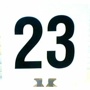 Table Numbers 1-100