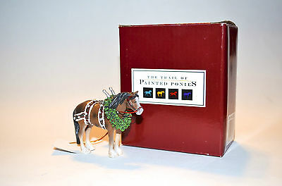 - New in Box Trail of Painted Ponies Clydesdale Horse Christmas Ornament!