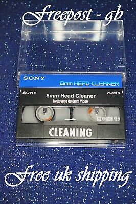 SUPER SONY V8-6CLD Video 8 8mm Hi8 & Digital 8 Druckkopfreinigung Tape/Kassette