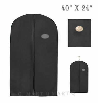 New Black Quality Suit / Dress / Garment Storage Bags / Covers made by PEVA