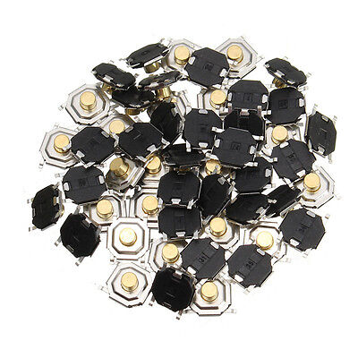 Push Button 1.5mm 4x4x1.5mm SMD Push Button Switch Microswitch Tact Switch x 20