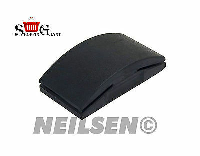 125x70mm Rubber Sanding Block Black Use With Abrasive Paper Quality Tool CT3306