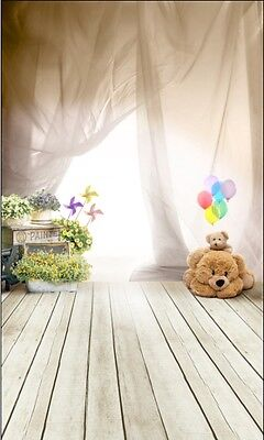 Photography Backdrops Photo Props Studio background children wooden vinyl 5x7ft