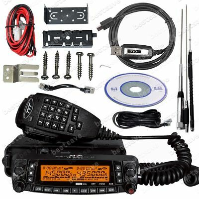 TYT TH-9800 Quad Band Car Truck Mobile Radio Transceiver +Antenna + Cable B0628