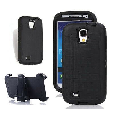 For Samsung Galaxy S4 Defender Rugged Case Screen Protector & Clip Fit Otterbox