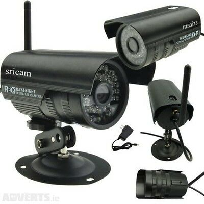 WiFi Outdoor Wireless 48Leds IR Night Vision CCTV Security Network IP Camera