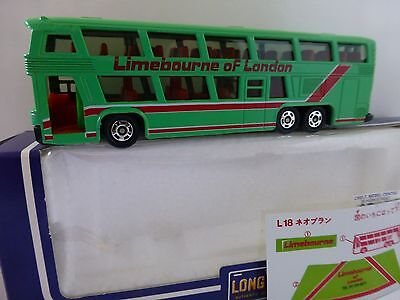 Tomica/Tomy L18 NEOPLAN BUS  very rare vintage model  LIMBOURNE OF LONDON 1:100
