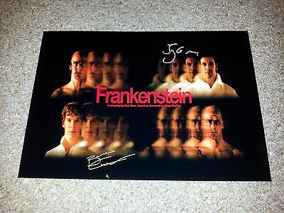"""Frankenstein Play Pp Signed 12""""x8"""" A4 Photo Poster Benedict Cumberbatch Miller"""