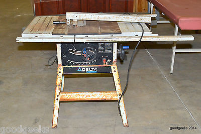 """DELTA SHOPMASTER 10"""" TABLE SAW TS300 MUST SELL LAST ONE!!!"""