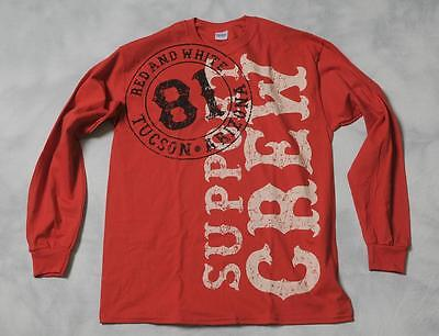 """Hells Angels Tucson - """"SB Bullet 81 Support"""" - Red Long Sleeve T-Shirt (S-4XL)"""