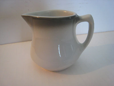 Shenango Mini Creamer Restaurant Ware  K-18, Gray Stripe at Top