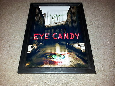 """Eye Candy Pp Signed & Framed 12""""x8"""" Photo Poster Victoria Justice"""
