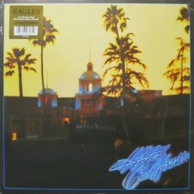 Eagles Hotel California 180gm vinyl LP +poster NEW/SEALED