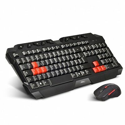 Pack Clavier & Souris Gamer sans fil 2.4GHz gaming ADVANCE