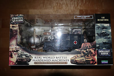 NEW GERMAN 4x4 AMBULANCE Forces of Valor 1:32 diecast model 80073 Panzer tank