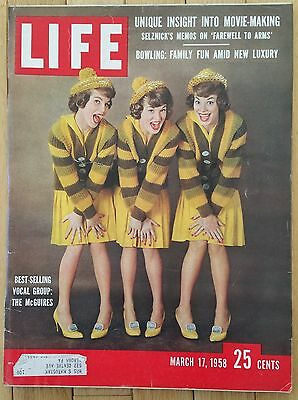 Life Magazine March 17 1958 The Mcguires Selznick Farewell To Arms Bowling